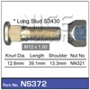 WHEEL STUD & NUT - M12X1.50